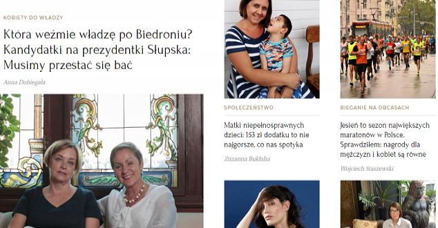 Wysokieobcasy.pl w nowej wersji. Jak oceniają ją eksperci?