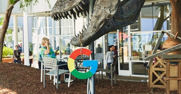 "Dinosaur (""Stan"") at the Googleplex 2 