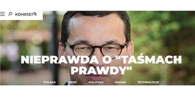 print screen ze strony https://konkret24.tvn24.pl