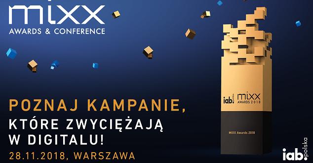 IAB MIXX Awards & Conference 2018 już 28 listopada