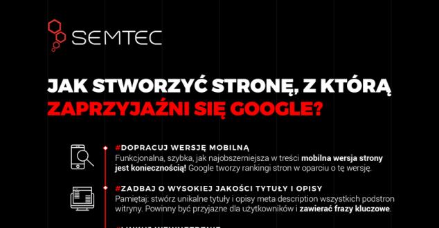 Jak stworzyć stronę www, która podbije wyniki Google? [INFOGRAFIKA]