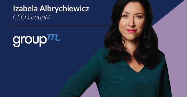 Izabela Albrychiewicz obejmuje funkcję CEO GroupM w Polsce