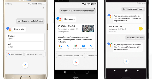 Przycisk Asystenta Google pojawi się na ponad 100 milionach urządzeń jeszcze w tym roku