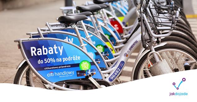 W aplikacji Jakdojade znowu pojawiły się warszawskie trasy rowerowe