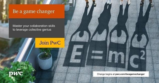 """H2O Creative ponownie reklamuje PwC w międzynarodowej kampanii """"Be a game changer"""""""