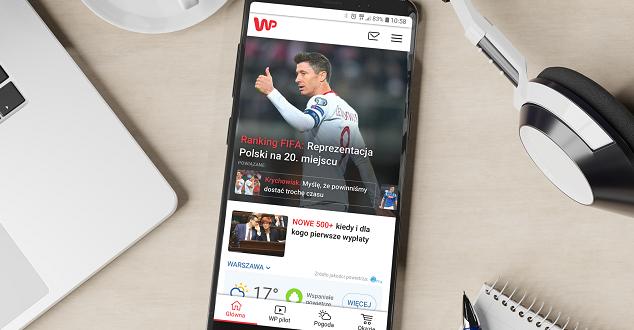 mobilna strona WP.pl
