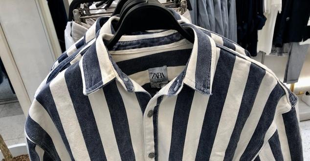 Koszula a'la Auschwitz w Zara