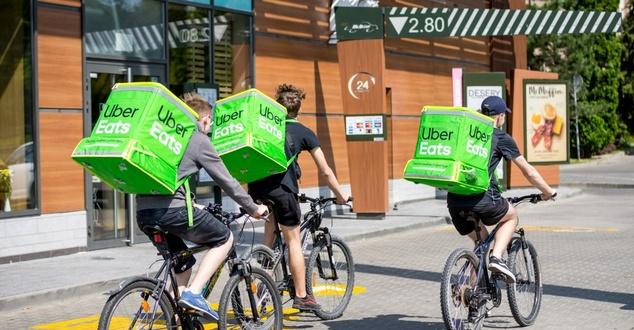 Uber Eats rozpoczyna działalność w kolejnym polskim mieście