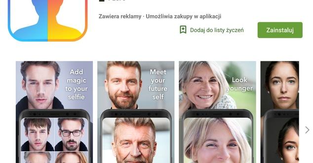 FaceApp - aplikacja do postarzania znów podbija internet. Przebicie wyszukiwań w Google