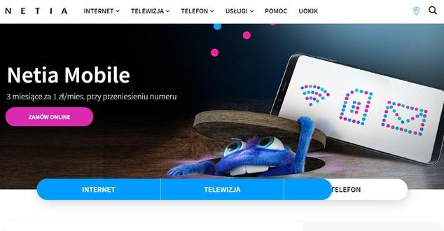 Nowa strona Netii - oprócz poprawy UX - ma zwiększać sprzedaż. Jak oceniają ją eksperci?