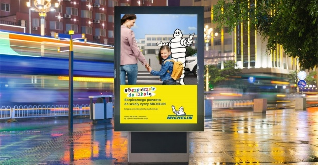#BezpiecznieDoSzkoły, fot. Michelin Polska