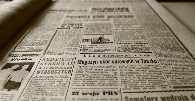 gazeta, druk, czasopismo, fot. ChristopherPluta, pixabay
