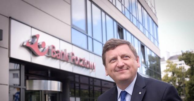 Robert Kuraszkiewicz, prezes Banku Pocztowego