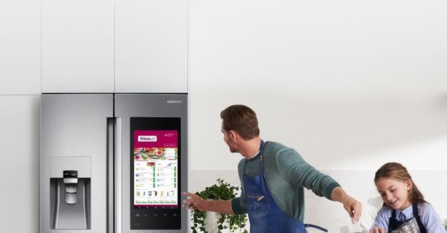 lodówka, kuchnia, rodzina, fot. Samsung, Frisco