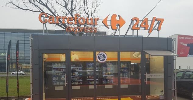 Carrefour otworzył pierwszy w pełni samoobsługowy sklep