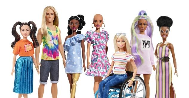 Marki kontra stereotypy. Mattel wypuszcza nowe modele lalek Barbie