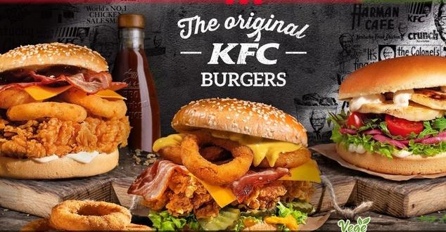burger, jedzenie, fot. KFC