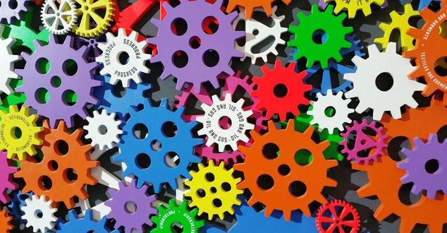 kolorowe koła | fot. Digital Buggu | Pexels