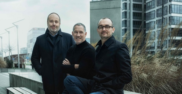 Od lewej: A. Smilowski, E. Maruri, J. Korolczuk, fot. Grey Group Poland