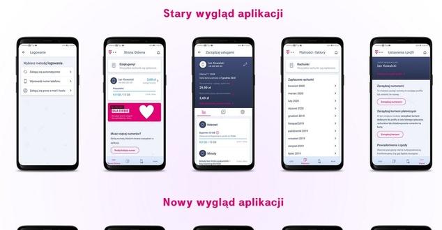 Aplikacja Mój T-Mobile. Sieć zaprezentowała jej nowy wygląd
