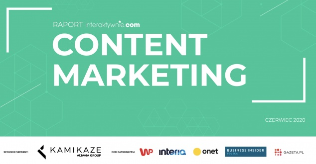Content marketing - ebook z raportem i poradnikiem AD 2020