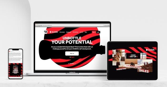 """COCA-COLA HBC Polska i Kraje Bałtyckie zakończyła czwartą edycję konkursu dla studentów BRAND OPENER 2020 pod hasłem """"Unbottle your potential""""."""