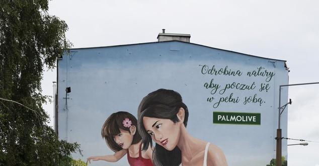 mural, fot. Palmolive