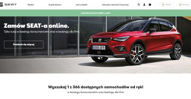 Sprzedaż samochodów online. Seat otworzył sklep internetowy