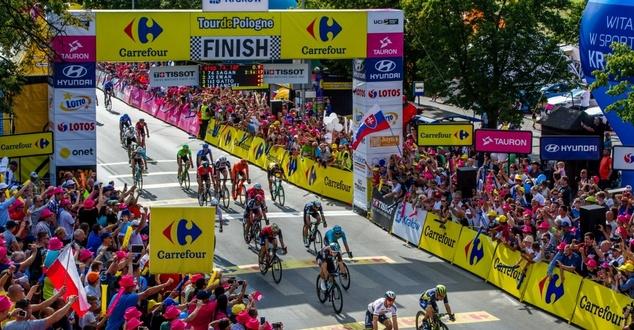 Wystartował Tour de Pologne. Popularna sieć supermarketów wspiera wyścig po raz czwarty z rzędu
