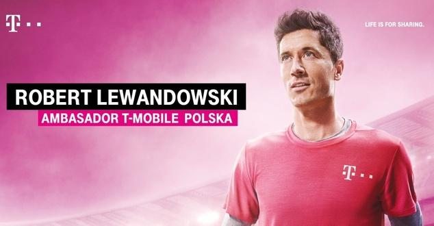 Robert Lewandowski rozpoczął współpracę z T-Mobile Polska. Wystąpi w prawie każdej reklamie?