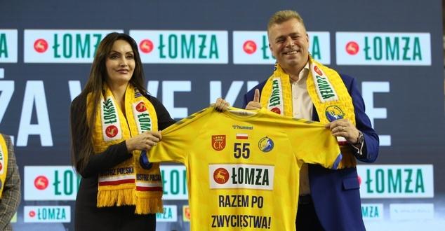 Łomża Vive Kielce, Jagoda Iwańczuk, Bertus Servaas, fot. Patryk Ptak/ŁOMŻA VIVE Kielce