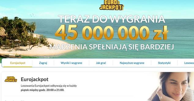 Polak wygrał 96 mln zł w Eurojackpot. Ale to nie rekord głównej wygranej w naszym kraju