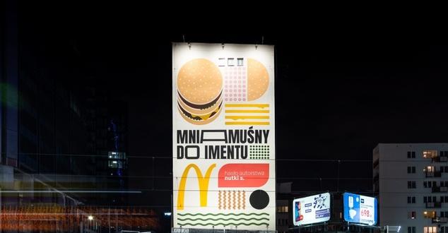 Mural McDonald's w Warszawie. Firma odtworzyła najciekawszy projekt internautów