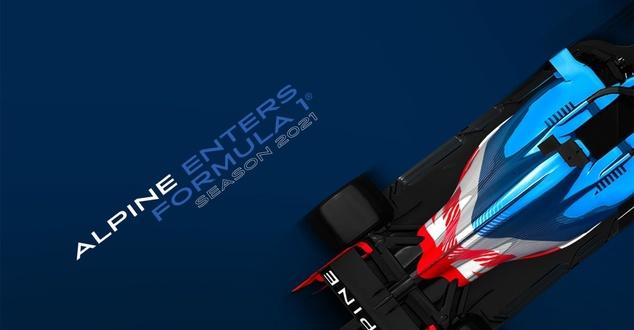 Alpine w Formule 1. Grupa Renault zmienia barwy swojego zespołu
