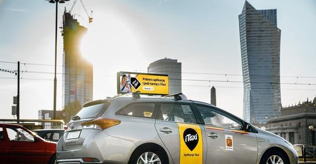 Mobilna reklama w iTaxi. Firma buduje pierwszy w Europie mobility digital network