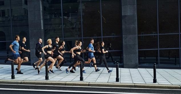 biegacze, zespół, sport, fot. 4F