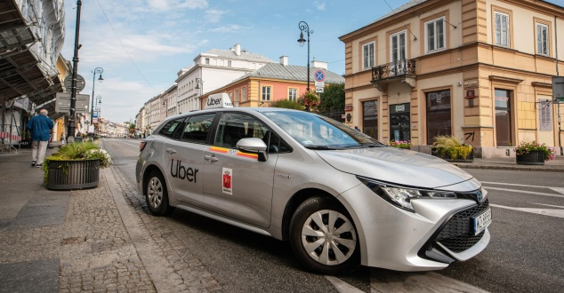 taxi, samochód, taksówka, transport, auto, fot. Uber