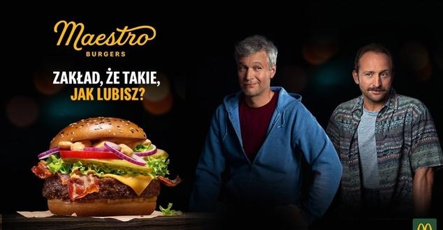 Borys Szyc i Michał Żebrowski zakładają się w nowej kampanii McDonald's
