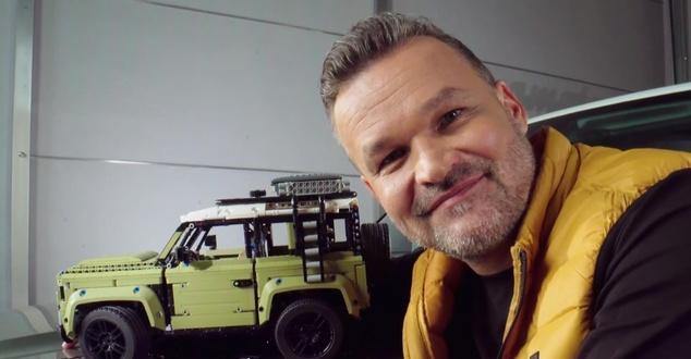 LEGO Adults Welcome, Land Rover Defender, Adam Kornacki, fot. Lego Polska