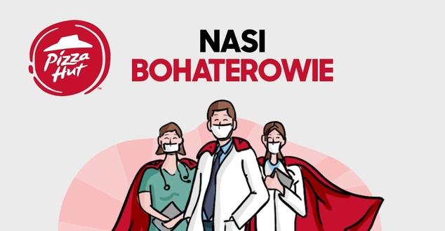 Pizza Hut wesprze medyków. Wybranych zostanie 30 bohaterów naszych czasów
