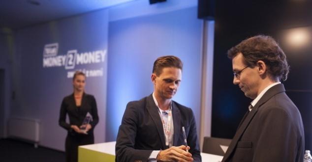 Na zdjęciu z lewej Aleksander Kusz - prezes Money.pl. fot. Bartek Sadowski