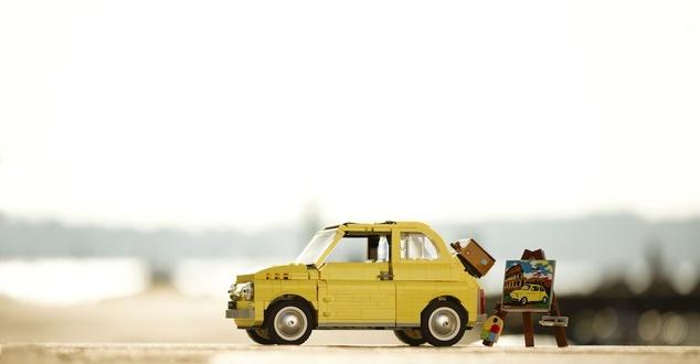 LEGO Creator, Fiat 500, samochód, fot. LEGO