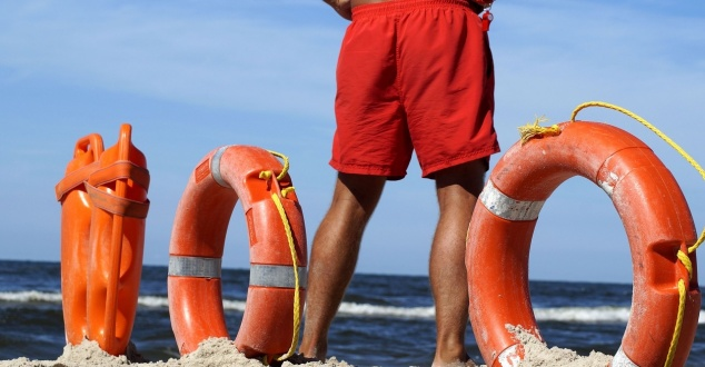 ratownik, plaża, WOPR, fot. marzena7, pixabay
