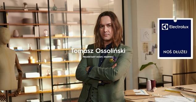 Tomasz Ossolinski, szafa kapsułowa, fot. Electrolux PerfectCare