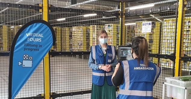 Amazon uruchomił wirtualne zwiedzanie swoich centrów logistycznych w Polsce