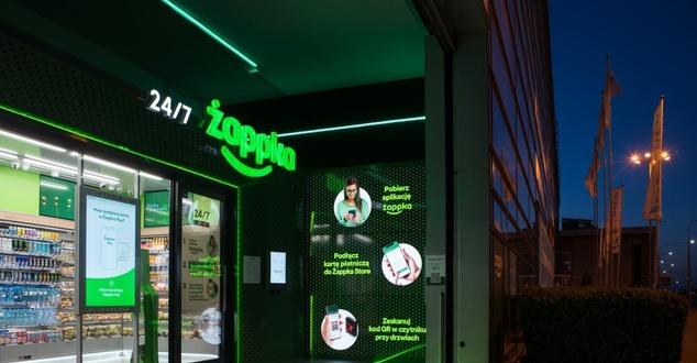 Żappka Store. Bezobsługowy sklep sieci Żabka rozpoczął działalność