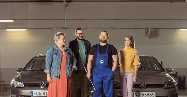 samochód, ludzie, grupa, fot. Volkswagen