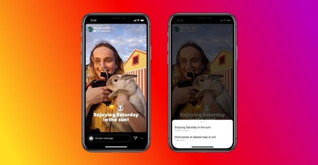 Instagram przetłumaczy tekst w relacjach. Nowa funkcjonalność dostępna również w Polsce