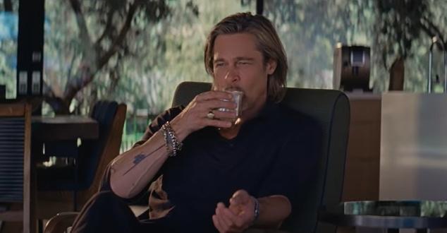 Brad Pitt, kawa, fot. De'Longhi