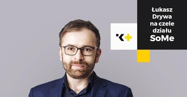 Łukasz Drywa nowym Head of Social Media w agencji K+PR